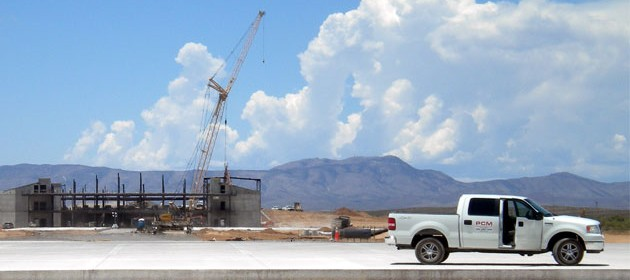 Spaceport America - Under Construction